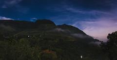 Ramboda night (runovv) Tags: asia outdoor nature mountains green sky skyscape clouds srilanka india darkness dark night stars
