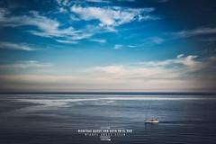 """Colección """"Mientras quede una gota en el mar"""" - #2 (Miguel Angel Lillo Fotografía) Tags: mar sea seascape cielo sky nubes clouds barco boat cloudscape picoftheday nikon aguilas murcia españa mediterráneo mediterranean"""