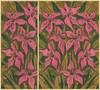 Pink Lilies by Clipso-Callipso / Julia Khoroshikh (clipso_callipso) Tags: flower floral lily lilies modern contemporary art bright catchy decorative pink green olive verdigris juniper bloom blooming blossom flourishing abundance garden summer rose rouge punch blush coral brown fancy whimsical saturated colorful funky handdrawn painting pastel pastels drawing bold vivid contrasty flashy flowers impressionism expressionism print printed