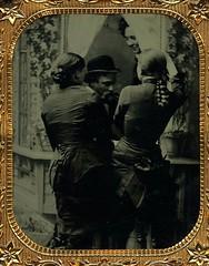 Ladies Of the Night (~ Lone Wadi ~) Tags: prostitutes tintype bordello brothel retro 1870s 19thcentury victorian unknown