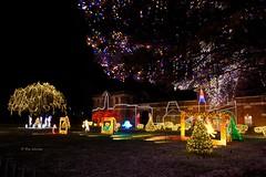Nela Park 37 (rwerman) Tags: ge generalelectric nelapark christmas christmaslights christmastree lights eastcleveland