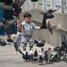 Little Boy and Pigeons - Hong Kong