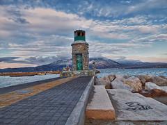 Corinthos Old Port Lighthouse