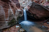 Middle Falls (Jeffrey Sullivan) Tags: middle falls kanarra creek grand staircase escalante national monument southern utah usa american southwest landscape nature photography canon eos 6d photo copyright jeff sullivan 2016 november kanarraville hike slot canyon