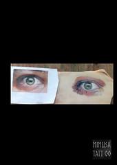 ojo_realista (MiMuSa Tattoo) Tags: tattoo tatuaje piel cerdo ojo eye color realismo realistictattoo test