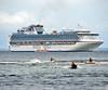 Bermain di Belakang Putri Berlian (Everyone Shipwreck Starco (using album)) Tags: kapal kapallaut kapalpesiar ship cruiseship diamondprincess