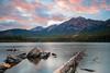 Pyramid Mountain, Canada (Sunny Herzinger) Tags: rock jasper rockies landscape sunset travel xf14mmf28 nationalpark alberta wood canada lake fujixpro2 nordamerika cakanada ca
