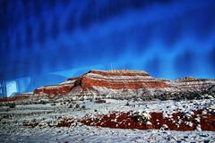 Southern Utah (Albert Jafar) Tags: southernutah winterscenery snowcoveredbutte utah kanab bluesky snow worldtrekker photographerswharf ncg