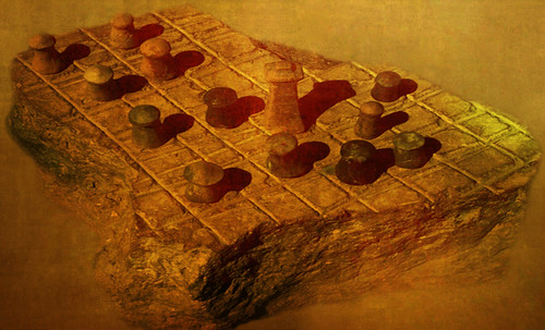 "Petteia - Ludus Latrunculorum  / Iconografía de las civilizaciones helenolatinas • <a style=""font-size:0.8em;"" href=""http://www.flickr.com/photos/30735181@N00/32143090780/"" target=""_blank"">View on Flickr</a>"