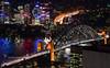 Sydscape (Suri Singh) Tags: australia sydney downunder urbanscape cityscape nightphotography catchycolors river bay waterscape bridge architecture