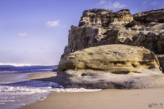 Kissing softly -  Beijando suavemente (Yako36) Tags: portugal praiadelrei sea seascape landscape nature natureza olympusomdem10 olympusmzuikodigitaled1442mmf3556iir óbidos
