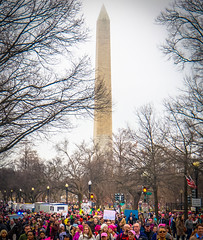 2017.01.21 Women's March Washington, DC USA 2 00139