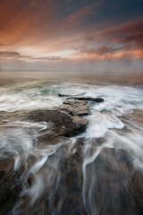 Rocky Island, Seaton Sluice (Alistair Bennett) Tags: rockyisland seatonsluice northumberland rocks seascape evening sunset polarizer gnd045se canonef1740mmƒ4lusm