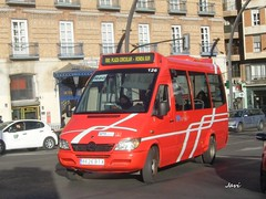 Mercedes Sprinter 126 de TM Murcia (Bus Box) Tags: murcia tm mercedes sprinter autobus bus urbano microbus 126