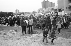 Kids (thereisnocat) Tags: canonet canonetql17 jch400streetpan protest womensmarch womensmarchap asburypark monmouthcounty newjersey nj