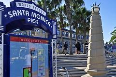 Gateway to the Merry-Go-Round (AntyDiluvian) Tags: california losangeles la santamonica beach santamonicabeach santamonicastatebeach santamonicapier gateway worldfamous merrygoround carousel