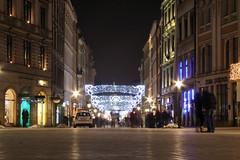 Night in Kraków (4) (Krzysztof D.) Tags: shiftn night noc nacht kraków polska poland polen małopolska małopolskie zima winter centrum rynek marketsquare marketplace