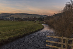 Gala Water Sunset Stow (Colin Myers Photography) Tags: gala water sunset stow colinmyersphotography colin myers photography scotland scottish winter frosty cold scottishborders theborders borders galawater river st marys wedale stmaryswedale