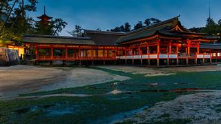 Itsukushima shrine @ Miyajima island