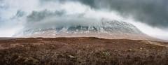 Panoramic from the Roadside, Glencoe. (itsjamesy) Tags: scotland scottish glencoe nikond3 d3 sigma sigma35mmart art f14 panorama panoramic stitched mountain roadside roadtrip highlands scenic scenery