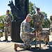 Retirement Ceremony for Military Working Dog ZITA.