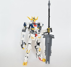 ASW-G-08 Gundam Barbatos Lupus Rex (ExclusivelyPlastic) Tags: lego gundam barbatos lupus rex ironblooded orphans iron blooded japan anime mech mecha robot scifi