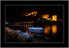 Passau (alfred.hausberger) Tags: passau oberhaus niederhaus nachtaufnahme donau spiegelung