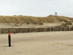 On the beach. (Fijgje On/Off) Tags: strand beach vuurtoren lighthouse zand fijgje appleiphone5s ouddorp goereeoverflakkee zuidholland nederland mrt2017 kust coast duinen dunes