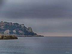 Cap de Nice - A cloudy day (lamnn92) Tags: nice capdenice mediterranian cloud sky sea seascape côtedazur travel hdr panasonic fz1000