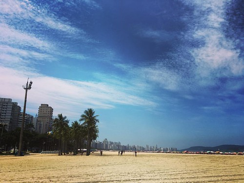 Santos #santos #praia #beach #sol #saopaulo