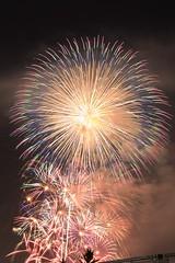 2015_08_08 淀川花火-12 (Y.K.swimmer) Tags: japan night fireworks osaka 花火 淀川 花火大会 なにわ