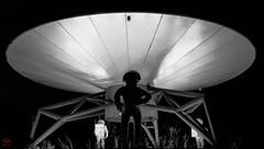 UFO_1 (To/m) Tags: street bw france strange night ufo nb nantes ovni x100t