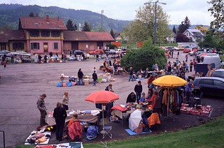 Flea market in Littenweiler