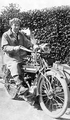TS 1115 (Dundee City Archives) Tags: old photos motorcycle motorbike 1900s dundee bsa ts1115 edinburgh leith motorcyclist edwardian era man