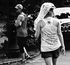 Final Days of Freedom!  - Savannah GA (Meridith112) Tags: street summer people blackandwhite bw woman girl ga georgia person mono bride nikon august single savannah streetshot chathamcounty 2015 nikon2485 augustbride savannahbride nikond610 finaldaysoffreedom