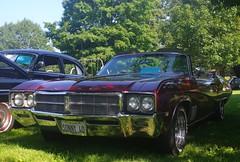 1969 Buick Skylark Convertible (ilgunmkr - Thanks for 4,000,000+ Views) Tags: 1969 buick carshow 2015 buickskylark peruillinois buickconvertible illinoisvalleyrodderscarshow