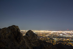 Piestewa Peak (raptoralex) Tags: longexposure arizona mountain phoenix night squawpeak piestewapeak valleyofthesun