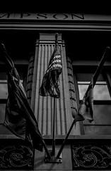 Uncorporate America (GDM_ILLregulr) Tags: street blackandwhite white streetart black streets building architecture america buildings photography texas photographer state flag ad streetphotography streetlife flags advertisement architect american gdm amerikkka streetstyle corperation uncorporate instagram illregulr garrettmcwhirter