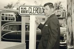 Robert Clroux, 14 octobre 1961. (Jean-Marc Hurtubise) Tags: robert boulevard laval 1961 octobre boxe poids lourd boxeur cleroux