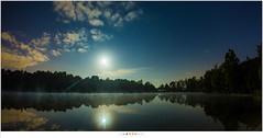 Na de maansverduistering (nandOOnline) Tags: water nacht nederland luna avond lunar donker lunareclipse vijver eclips maan vollemaan sterren aarlerixtel verduistering nbrabant maansverduistering supermaan bloedmaan superbloedmaan aarlesevisvijver