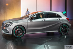 Mercedes-Benz presentation of latest technology (885535) (Thomas Becker) Tags: mercedesbenz mercedes benz daimler presentation prsentation vorfhrung festhalle technology technologie publikum aclass aklasse mopf facelift 2016 iaa2015 iaa 2015 66 internationale automobilausstellung ausstellung motor show mobilitt verbindet frankfurt hessen deutschland germany messe fair exhibition automobil automobile car voiture bil auto fahrzeug vehicle  c copyright thomas becker aviationphoto nikon d800 fx nikkor 2470 f28 geotagged geo:lat=50112013 geo:lon=8643569 worldcars