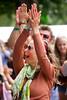 2015_CarolynWhite_Friday (88) (Larmer Tree) Tags: 2015 friday wristband clap handsintheair carolynwhite smile mainlawn