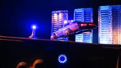 Corgi Toys Buick (Century) Regal Police Car No. 416 Converted Into A Futuristic Sci-Fi Hover Car : Diorama A Hover Police Car City Scene - 3 Of 98 (Kelvin64) Tags: city car century toys buick corgi no police scene scifi converted futuristic regal diorama hover 416 a into