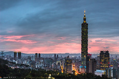 101  () Tags: city sunset night landscape star taiwan resort 101  taipei taipei101 1855     101   atone  600d  101 ef1855  101 1855isii 101