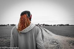 In Germany (Heidi Zech Photography) Tags: musician nature dreadlocks germany outdoors bavaria village walk fields dread rasta selectivecolor bavarianvillage ramsach