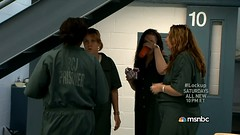 0005 (UJB88) Tags: woman green uniform cell prison jail arrested jumpsuit institution correctional restrained