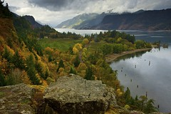 Autumn on the Columbia (ernogy) Tags: autumn west color fall oregon river season farm columbia columbiariver hoodriver ruthtonpark ruthton ernogy pfreim
