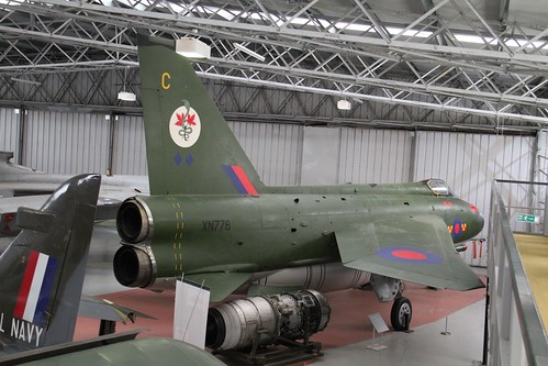 English Electric Lightning F.2A XN776