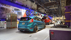 cinemotive_media_ford_fiesta_st_sema_2015_9 (cinemotivemedia) Tags: ford sign st race media paint fiesta bc dynamic wheels tire racing turbo brakes cobb imaging sema tuning edition savers falken baer 2015 velos tjin adv1 designwerks gurnade cinemotive