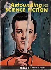 Astounding Science Fiction Vol. 63, No. 3 (May, 1959).  Cover by Van Dongen (lhboudreau) Tags: illustration magazine drawing illustrations drawings pulpfiction sciencefiction pulp magazines dickson pulpmagazine pulpcover 1959 magazinecover magazinecovers astounding pulps dongen vandongen pulpcovers vintagemagazine dorsai vintagemagazines pulpart gordonrdickson pulpmagazines astoundingsciencefiction astoundingstories may1959 hrvandongen classicsciencefiction vintagepulp astoundingmagazine sciencefictionstories streetsmith gordondickson streetandsmith vintagepulps volume63number3